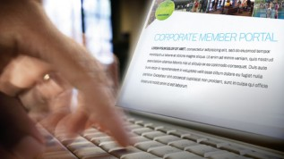 Access your company's Corporate Portal