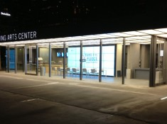 Information Center at Night