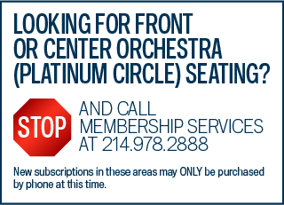Call Membership Services for Platinum Circle Broadway Seating
