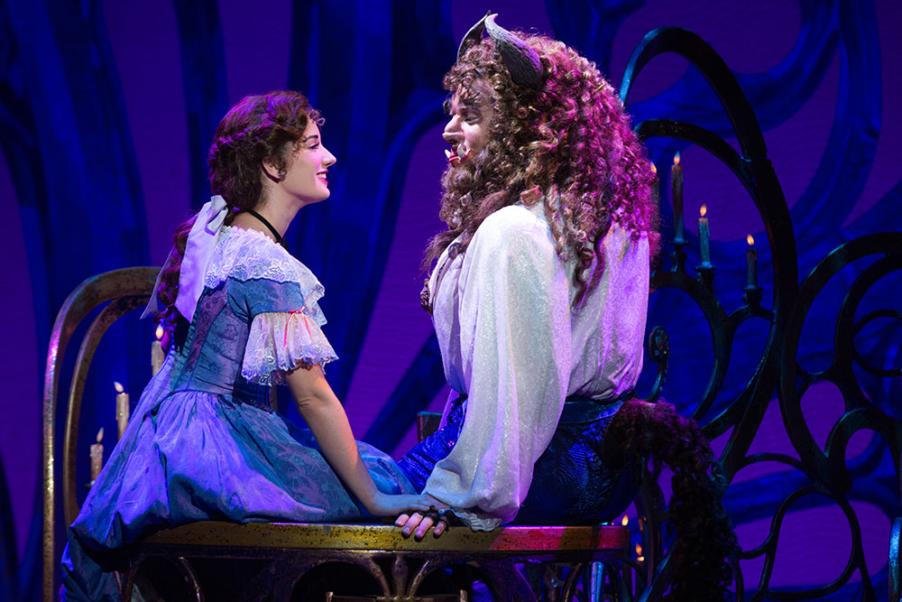 Image result for beauty and the beast musical