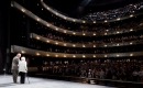 Margaret McDermott with Tom Engibous on Winspear Opera House stage in 2009. Photo by Iwan Baan.
