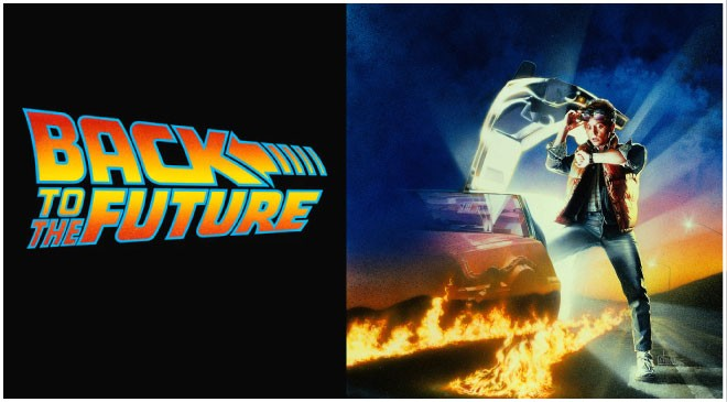Back to the Future Sunset Screenings Header
