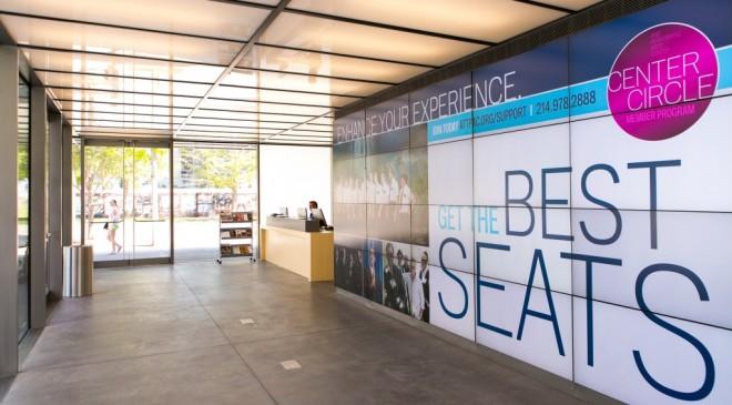 Interior of new Information Center