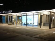 Information Center at Night