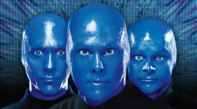 Attpac Blue Man Group In Dallas At The Winspear Opera House