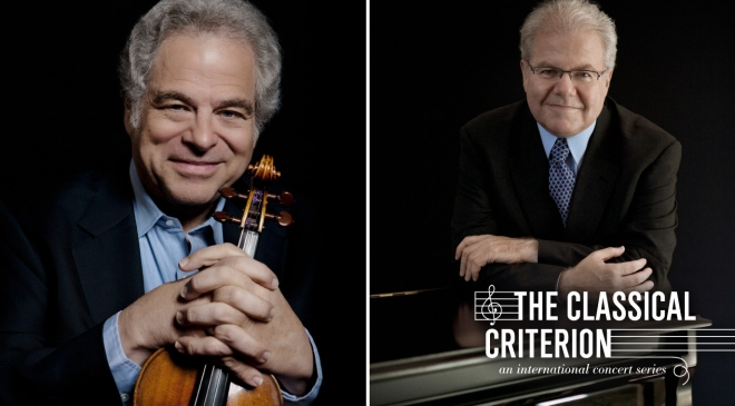 Itzhak Perlman & Emanuel Ax