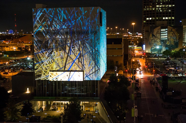 Aurora October 16 2015 In The Downtown Dallas Arts