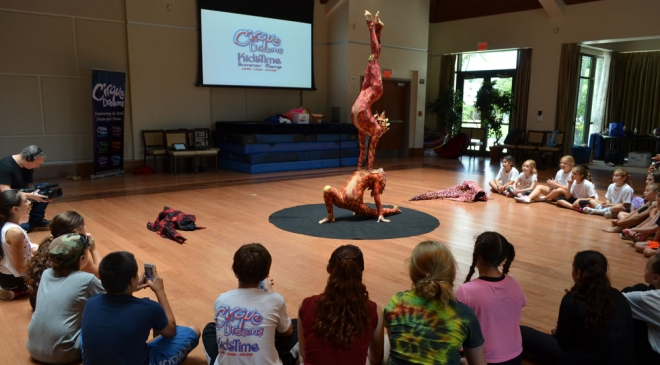 Cirque Dreams KidsTime Summer Camp