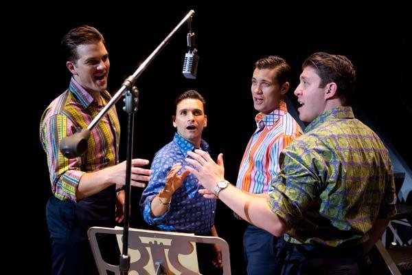 Cast Members of Jersey Boys