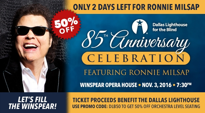 Ronnie Milsap At T Performing Arts Center
