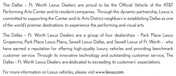 Lexus Text