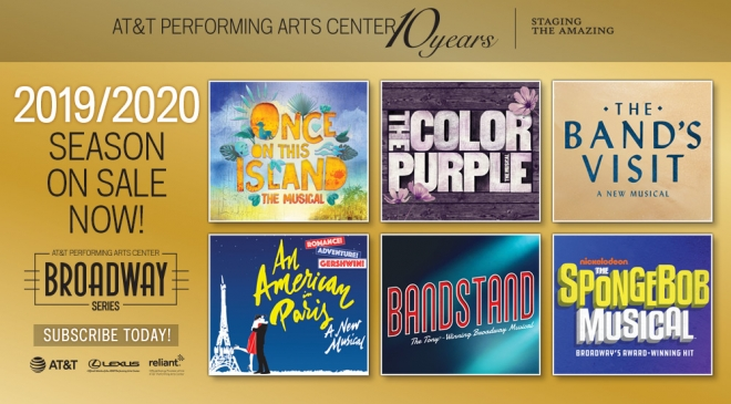 Broadway Series 2019-2020 Season