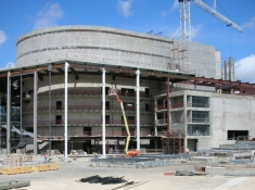 Winspear Opera House construction, 2009