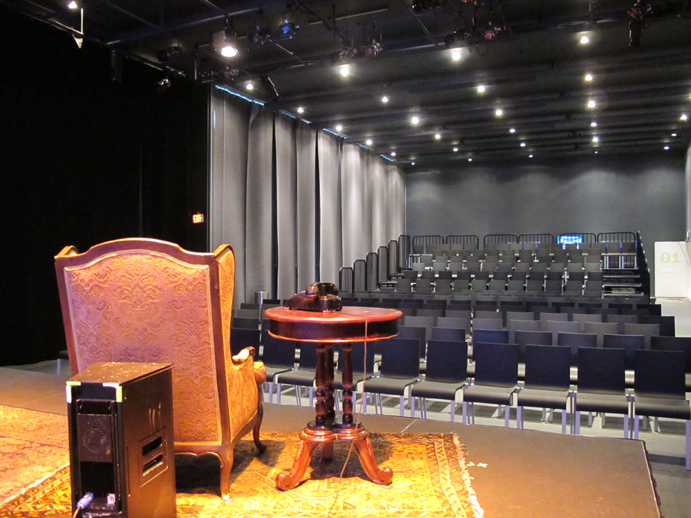 Studio Theatre In The Wyly Theatre Attpac